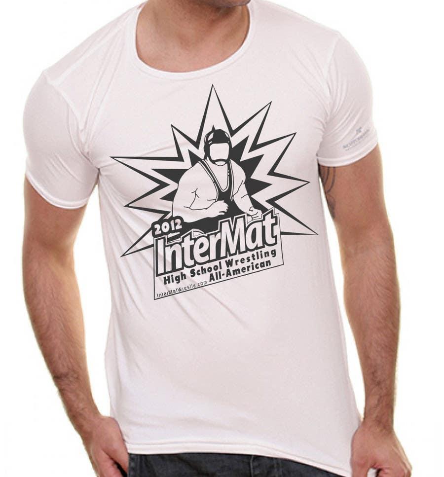 Inscrição nº 52 do Concurso para T-shirt Design for InterMatWrestle.com