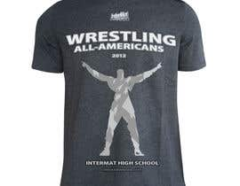 #38 untuk T-shirt Design for InterMatWrestle.com oleh JuriBianchi