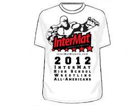 #16 untuk T-shirt Design for InterMatWrestle.com oleh esakajiro