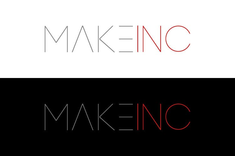#85 for Design a Logo for Makeinc by vladspataroiu