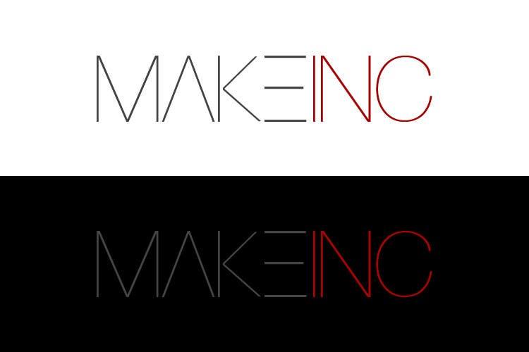 #87 for Design a Logo for Makeinc by vladspataroiu