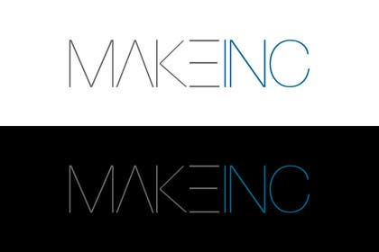 #88 for Design a Logo for Makeinc by vladspataroiu