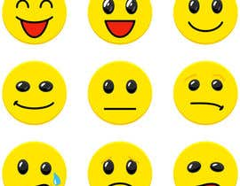 DoctorRomchik tarafından Design a grid of 9 original emoji icons için no 24