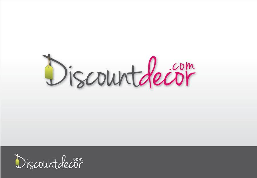 Penyertaan Peraduan #230 untuk Logo Design for Discount Decor.com