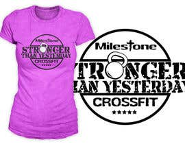 #11 for Design a CrossFit / Fitness T-Shirt for af richisd