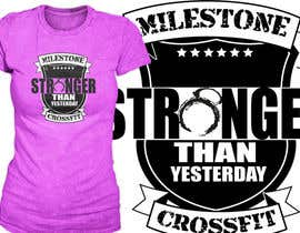 #20 for Design a CrossFit / Fitness T-Shirt for by richisd