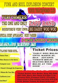 #5 cho Design a Flyer for Concert Flyer bởi elfiword