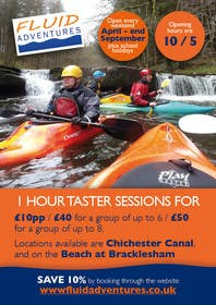 #24 for Design a Flyer for Kayaking Company by charlieplanas