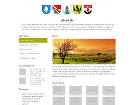 #38 para Responsive webpage design for an exsiting layout (romain catholic church) por dharam1890