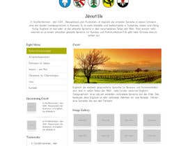 #40 para Responsive webpage design for an exsiting layout (romain catholic church) por dharam1890