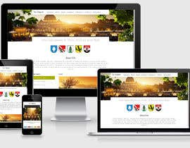 #44 para Responsive webpage design for an exsiting layout (romain catholic church) por dharam1890