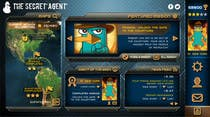 "Contest Entry #38 for Design a mockup of web-based game with a ""secret agent"" theme"
