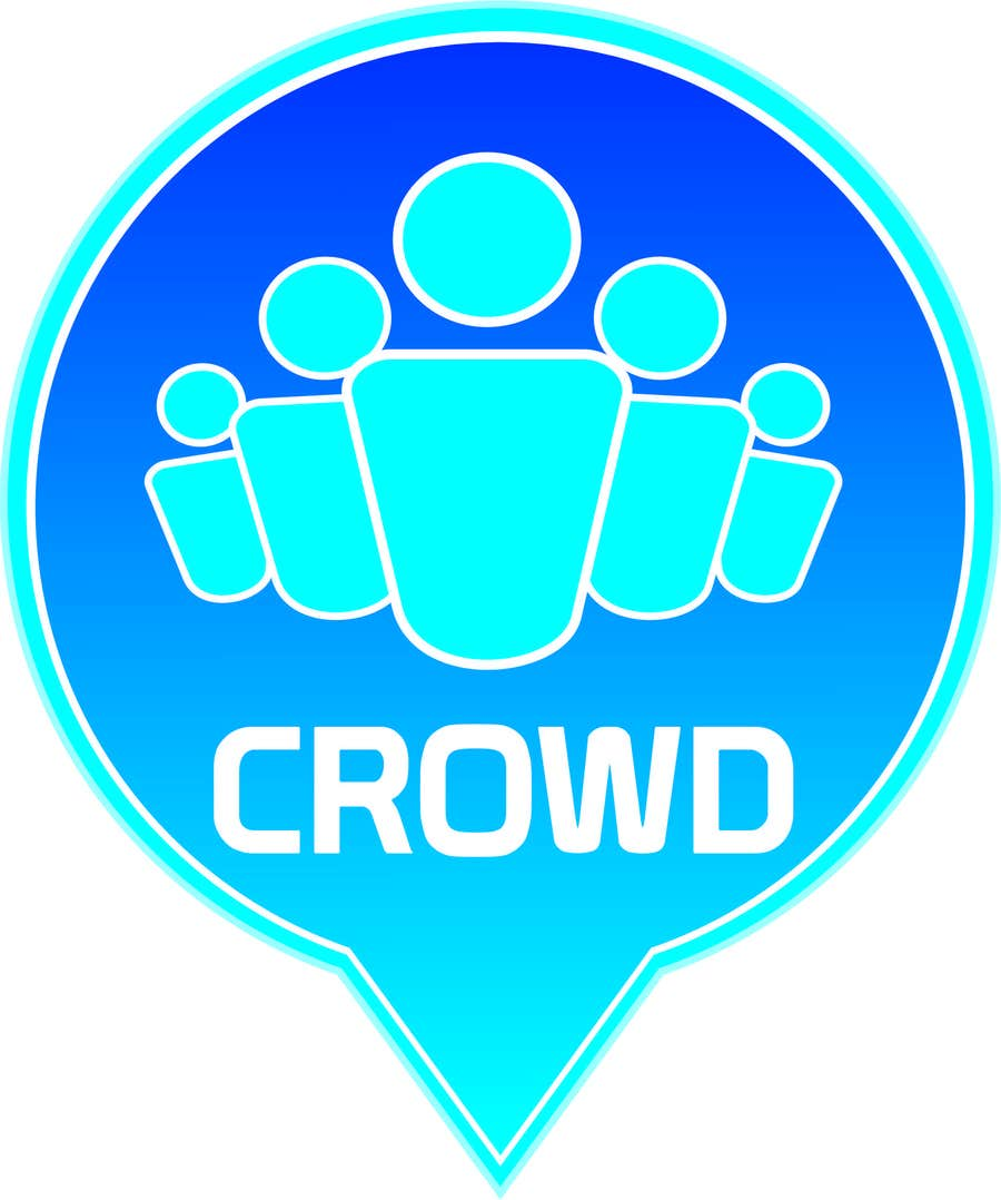 Contest Entry #6 for Design a Logo for a new App called Crowd