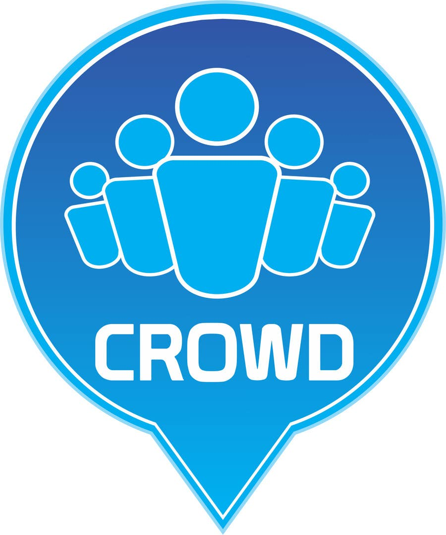 Contest Entry #7 for Design a Logo for a new App called Crowd