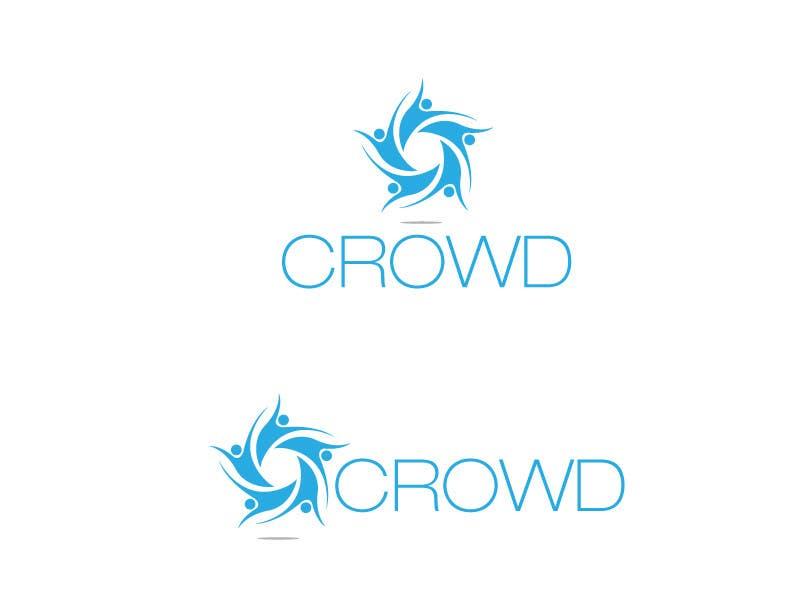 Kilpailutyö #5 kilpailussa Design a Logo for a new App called Crowd