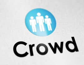 nº 26 pour Design a Logo for a new App called Crowd par wilfridosuero