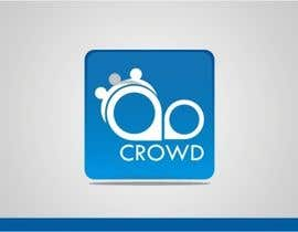 nº 28 pour Design a Logo for a new App called Crowd par simpleblast