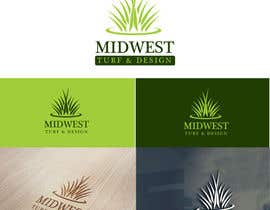 #50 for Design a Logo for Midwest Turf & Design by alizainbarkat