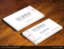 #9 for Business card for makeup artist by arnee90