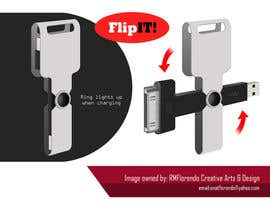 #18 para Product Design - USB key holder  $100.00 USD award! por RMFUNK