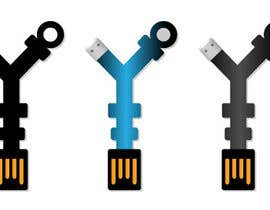 #23 para Product Design - USB key holder  $100.00 USD award! por rana300