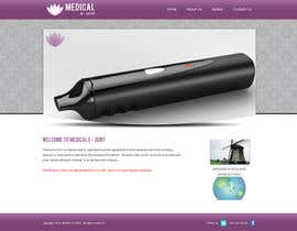 #17 for Design a Website Mockup for Medical E Joint af gravitygraphics7