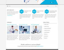 #4 para Design a Website Mockup for Medical E Joint por fo2shawy001