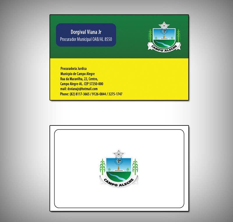 Inscrição nº 11 do Concurso para Business card for city lawyer