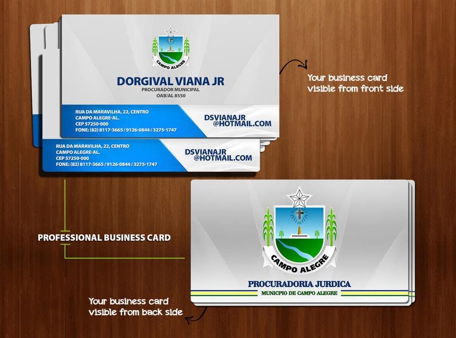 Inscrição nº 95 do Concurso para Business card for city lawyer