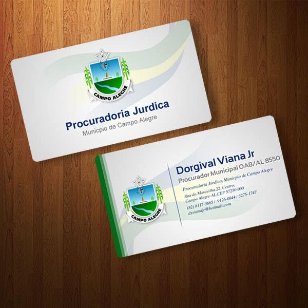#79 for Business card for city lawyer by studioultimate
