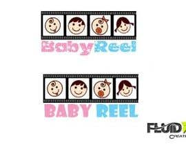 #41 for Design a Logo & App Icon for Baby Reel by fluidxcreations