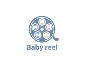 #43 para Design a Logo & App Icon for Baby Reel por tedi1