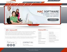 #15 untuk Website Design for Mac Software Ltda oleh creativeideas83