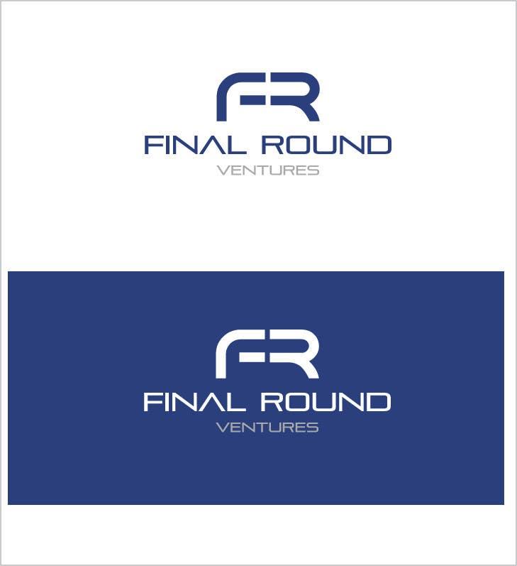 Penyertaan Peraduan #102 untuk Final Round Ventures Logo Design