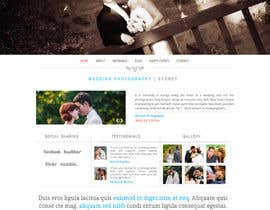 nº 15 pour Build a Website for Wedding Photographer par amitgenx