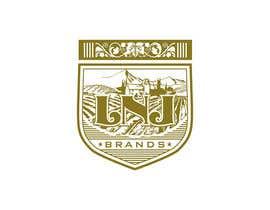 "antaresart26 tarafından ""LNJ Brands"" Logo Contest - Needed for family business (Wine and Liquor Company) için no 45"