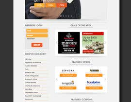 #47 for ***** Design landing page for FlyRebates.com ***** by Decafe