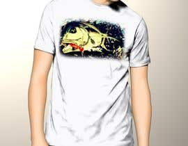 nº 14 pour T-shirt design for Trevally Fish par poonkaz