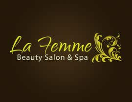 #120 para Logo Design for La FEmme Beauty Salon & Spa por AllisonR