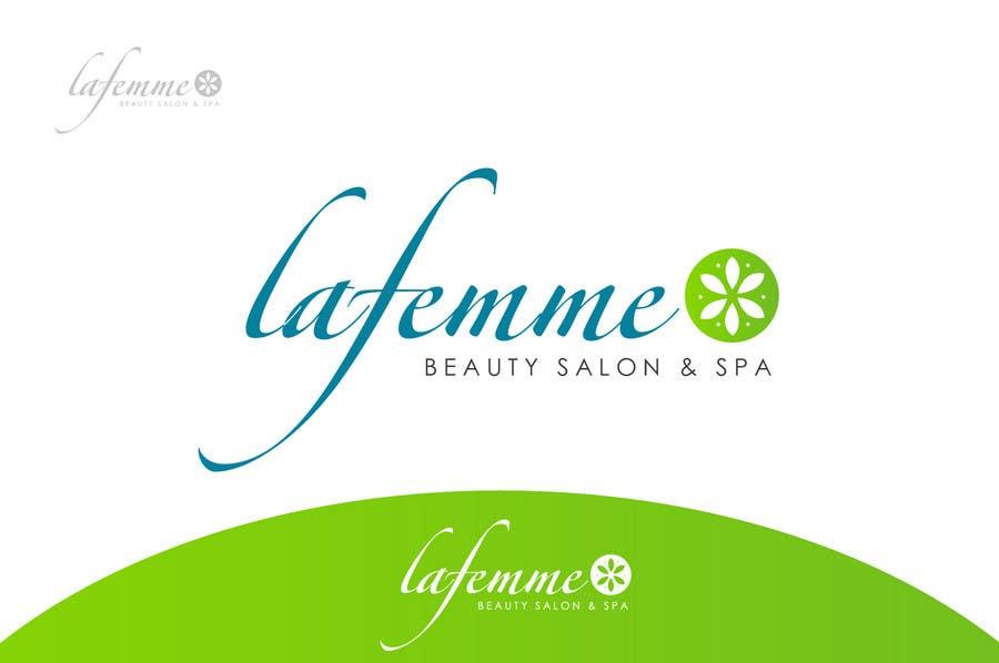 Proposition n°5 du concours Logo Design for La FEmme Beauty Salon & Spa