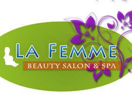 #124 para Logo Design for La FEmme Beauty Salon & Spa por silverIT