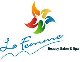 #113 para Logo Design for La FEmme Beauty Salon & Spa por srams2008