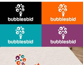#64 for Design a Logo for www.bubblesbid.com web site af thimsbell