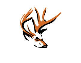 #13 para Whitetail Buck Emblem Design por souravds87
