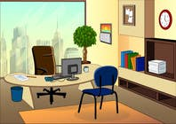 Cartoon office background contest winner