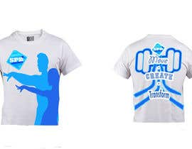 arunsuria tarafından Design a T-Shirt for a dance/yoga/fitness studio için no 6