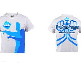 arunsuria tarafından Design a T-Shirt for a dance/yoga/fitness studio için no 7