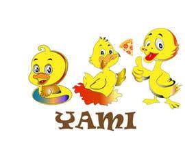 pavotech tarafından Design cartoon Logo for 3 little ducks and their lunch orders için no 7