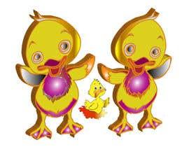 pavotech tarafından Design cartoon Logo for 3 little ducks and their lunch orders için no 8