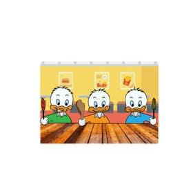jamesmilner25 tarafından Design cartoon Logo for 3 little ducks and their lunch orders için no 2